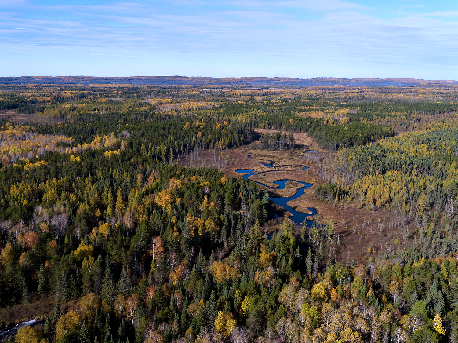 Partridge River, south of Babbitt, MN, Fall 2017